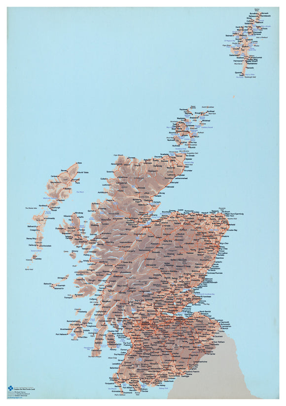 Scots map of Scotland