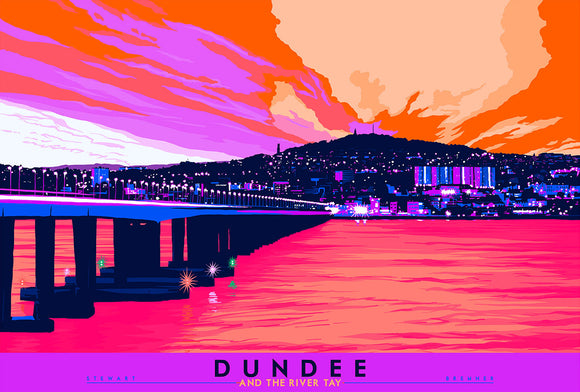 Dundee and the River Tay  – signed & limited edition print