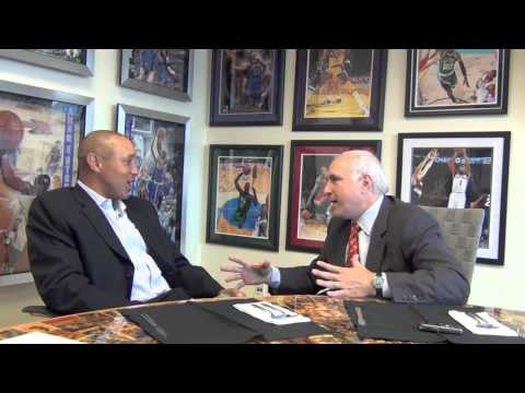 John Starks talks about his relationship with Brandon Steiner and Steiner Sports