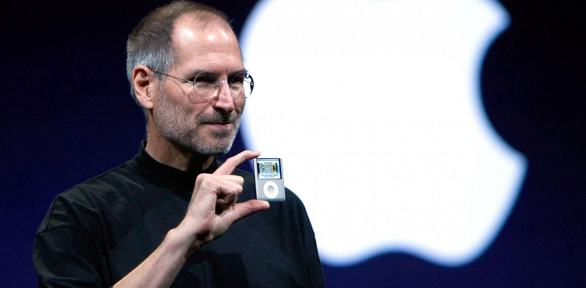 Steve Jobs did not INVENT the iPod, he DEVELOPED it!