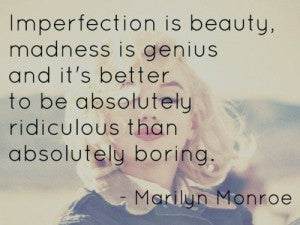 Enjoy the Imperfections