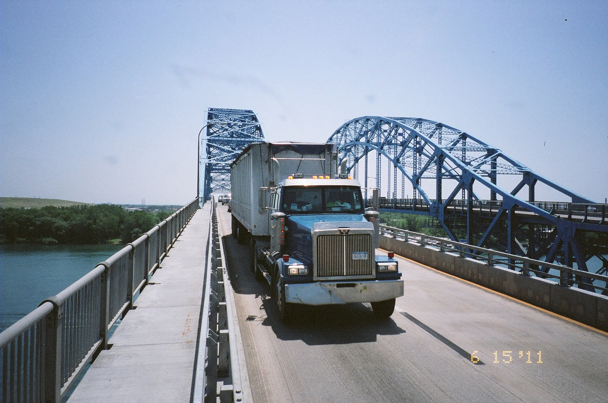 Don't Drive A 9,999 Pound Truck Over A 10,000 Pound Bridge