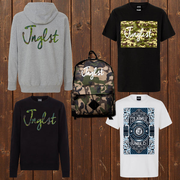 Jungle and Drum and Bass streetwear