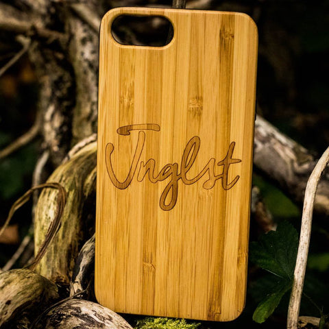 Bamboo Phone Cover for Junglists
