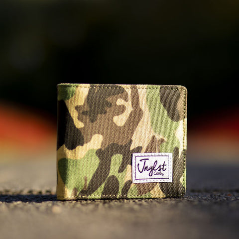 Camo Wallet for Junglsts