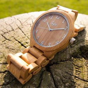 Junglist Clothing Bamboo Watch