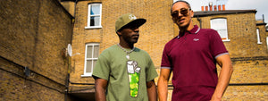 Navigator and David Boomah wearing Junglist Clothing