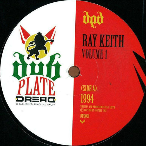 "Ray Keith -The Bongo Tune & 1994 - 12"" Vinyl"