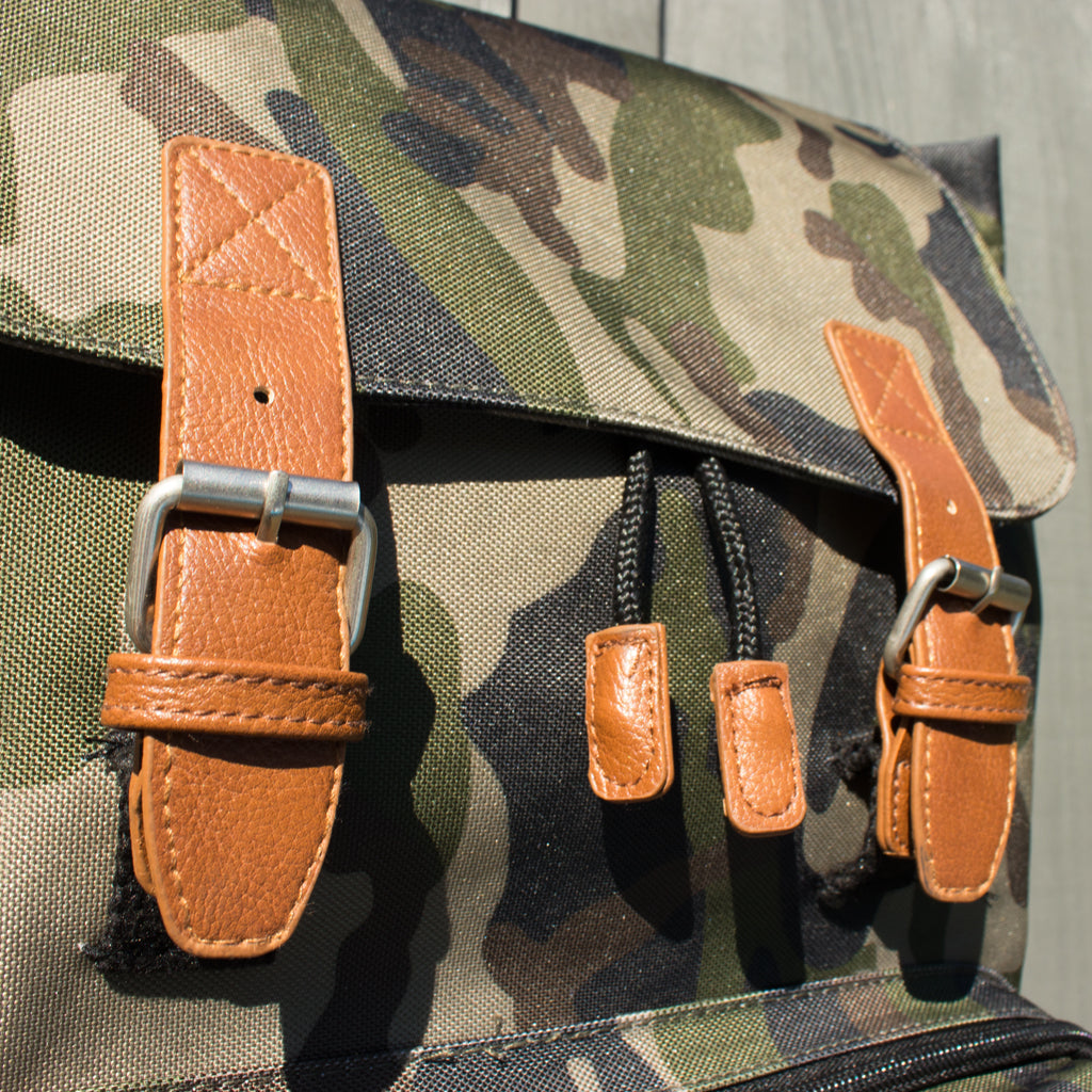 Camo Green Junglist Backpack