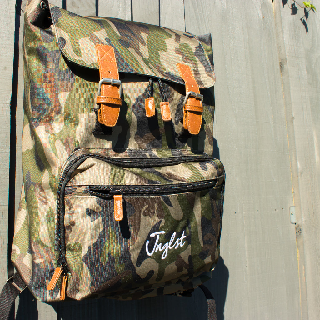 Camo Laptop Bag by Junglist Network for Junglists