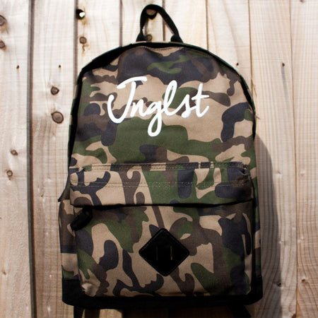 Jnglst 3D Embroidered Camo Snapback