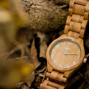 Bamboo Watch by Jnglst Clothing