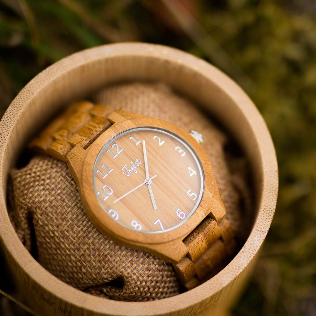 Bamboo Watch and Case for Junglists