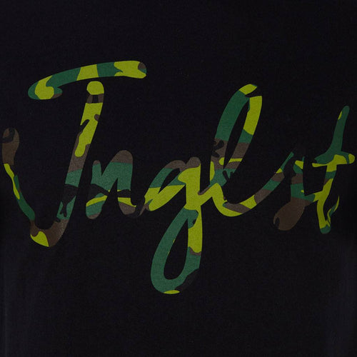 Close up camo Black Jnglst T-Shirt