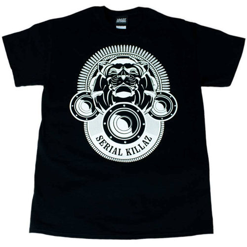 Serial Killaz Black Lion T-Shirt