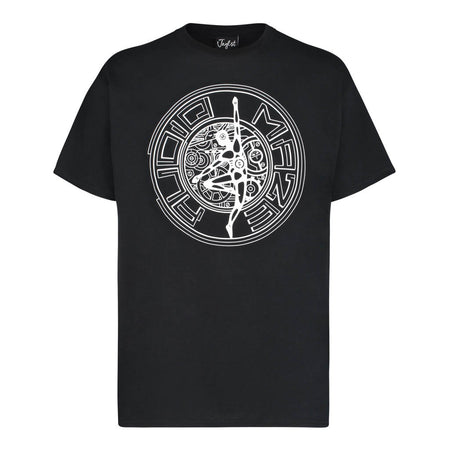 Audio Maze Cog White T-Shirt