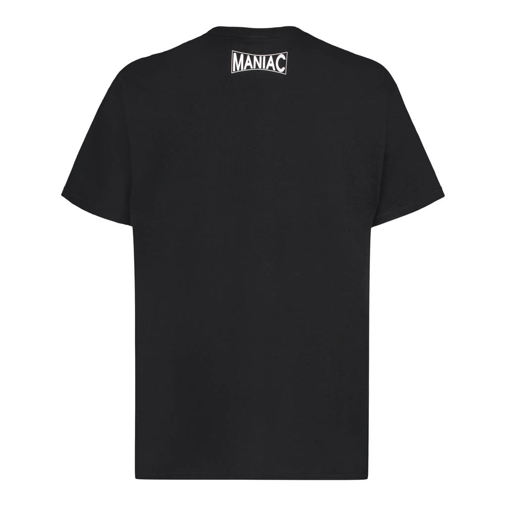 Audio Maze Cog Black T-Shirt