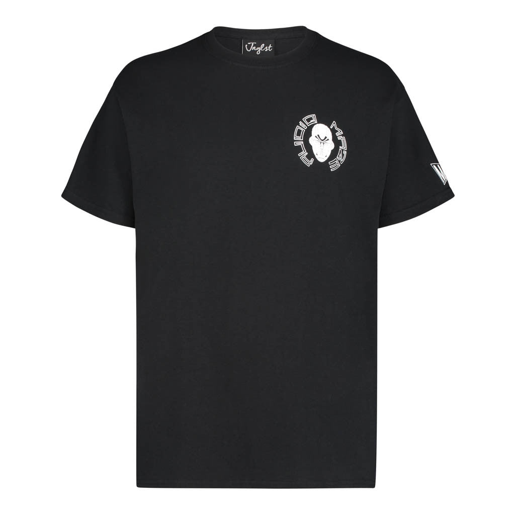 Audio Maze Black T-Shirt