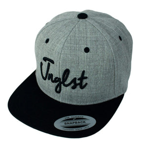 Jnglst black and Grey Snapback for Junglists
