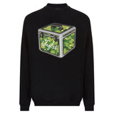 Jnglst Record Box Black Sweatshirt