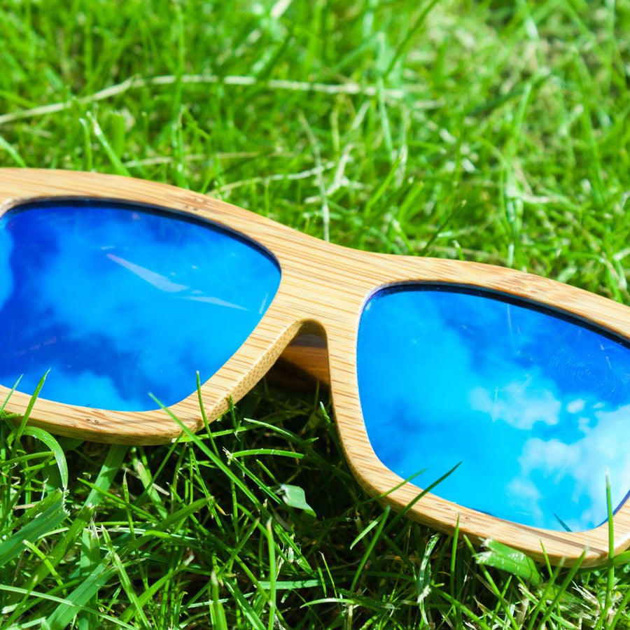 Blue Junglist Sunglasses