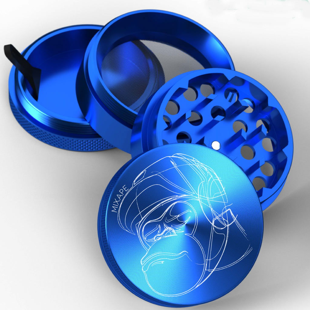 Blue Mixape 4 Part Grinder