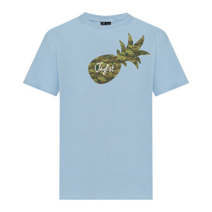 Light blue Junglist T-Shirt pineapple