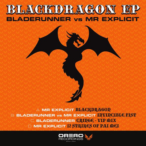 "BlackDragon EP - Bladerunner - Double 12"" Vinyl"