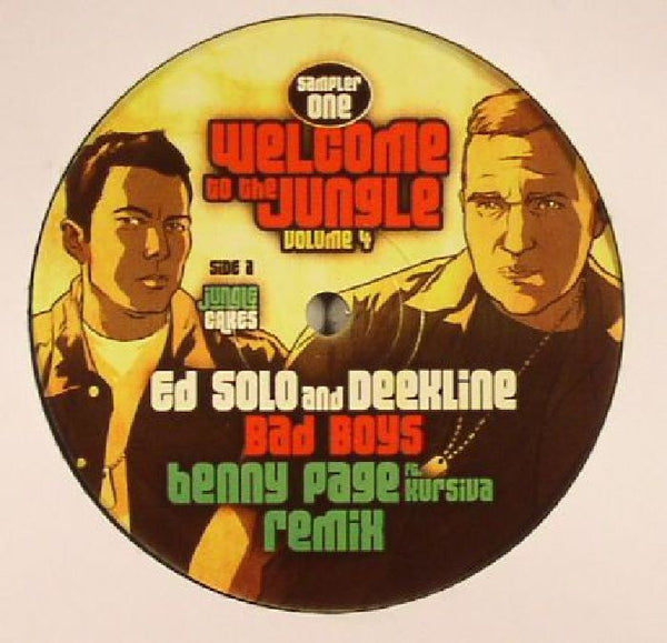 "Welcome to the Jungle Volume 4 Sampler One- 12"" Vinyl"
