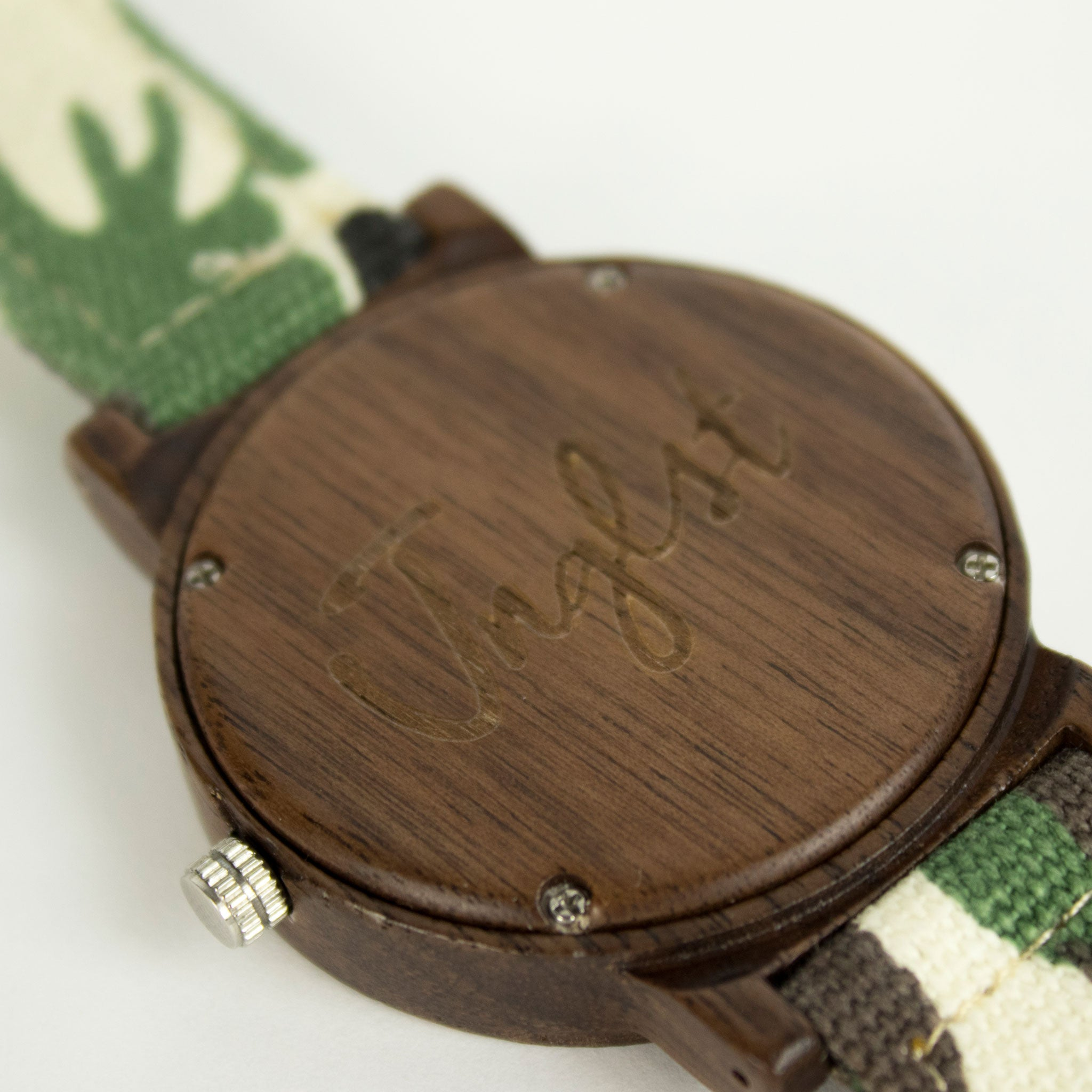 Bamboo Watch for Junglists from back