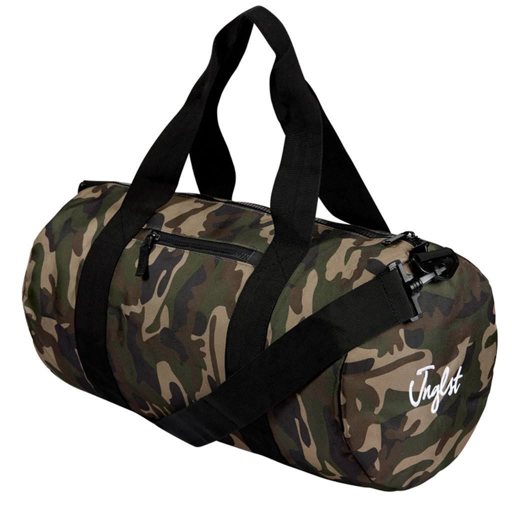 Jnglst Camo Barrel bag