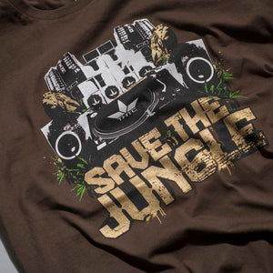 Save the Jungle T-Shirt Close up