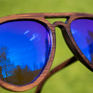 Blue Dark Junglist Sunglasses