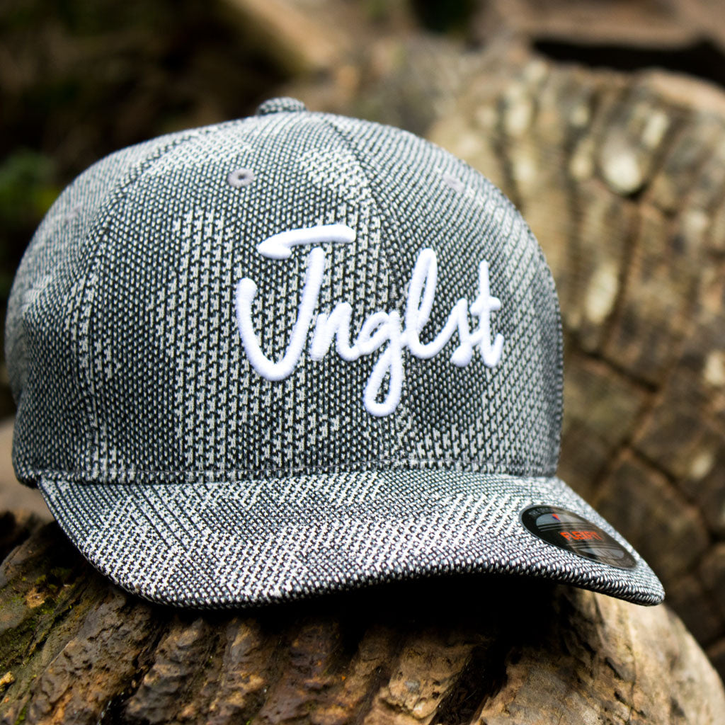 Grey Camo Cap with white Junglist Logo