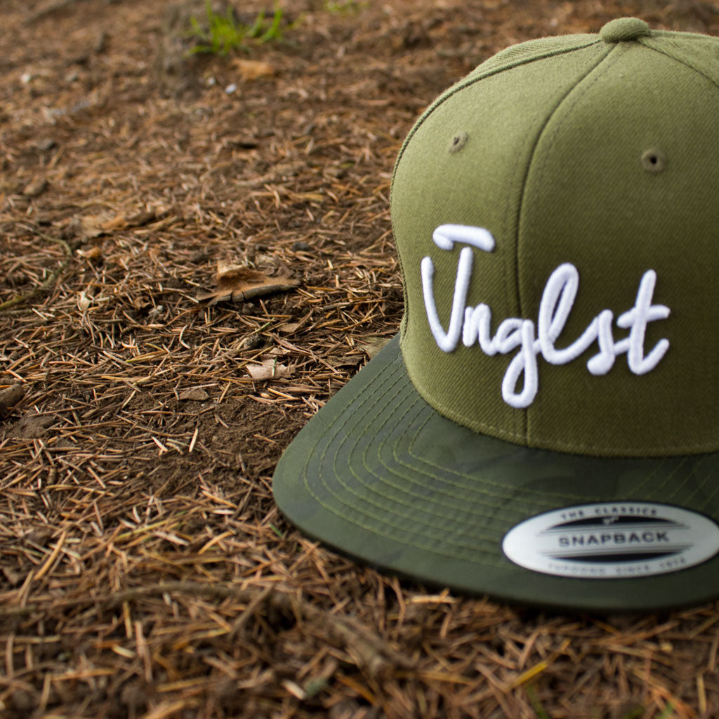 Junglist Snapback from Jnglst Clothing for Jungle heads