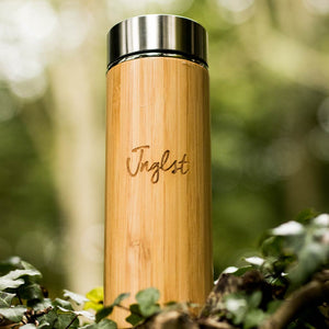 Bamboo Coffee Flask from Jnglst Clothing