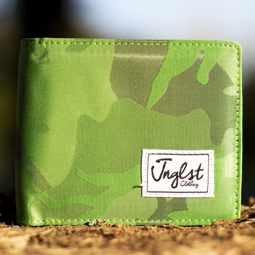 Junglist Light Green Wallet