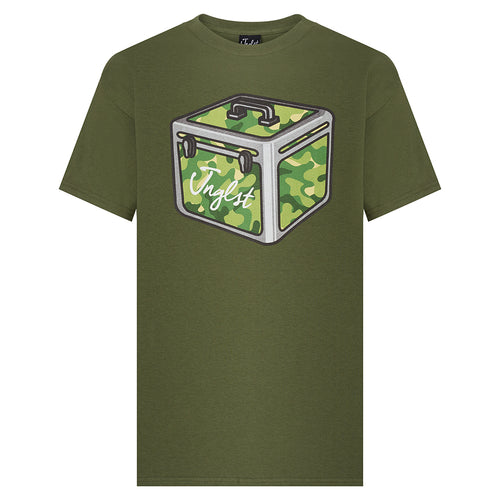 Green Jnglst Record Box tee