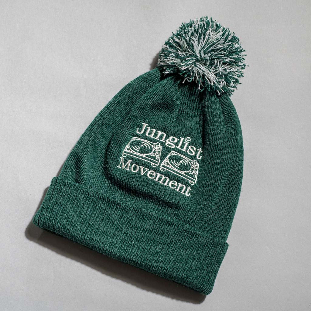 Bottle Green Junglist Movement Aerosoul Beanie