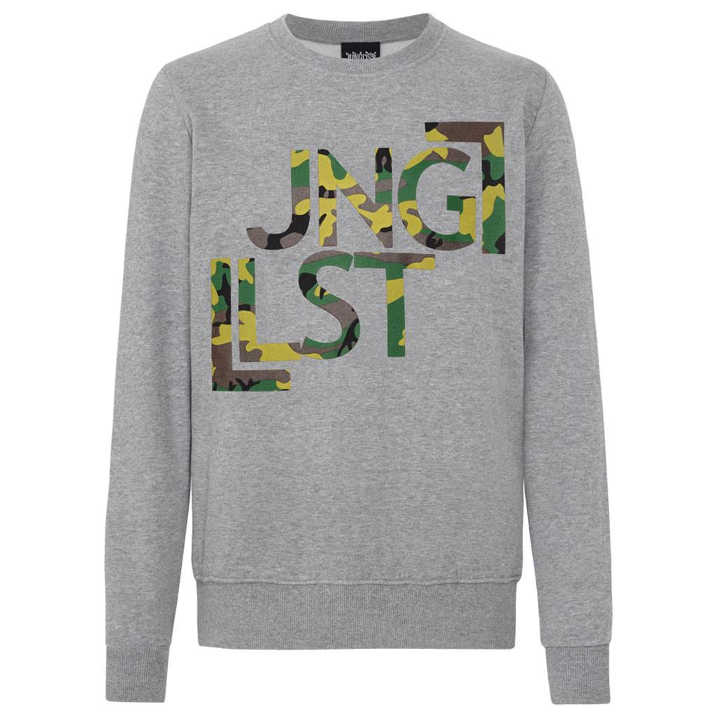 Grey Jnglst sweat