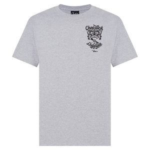 Grey Chopstick Dubplate T-Shirt