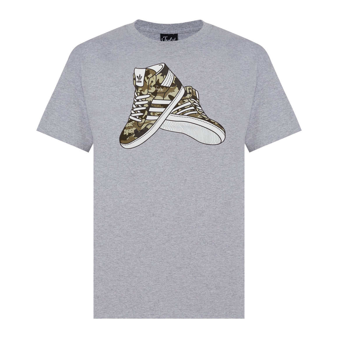 Grey jnglst Trainers tee