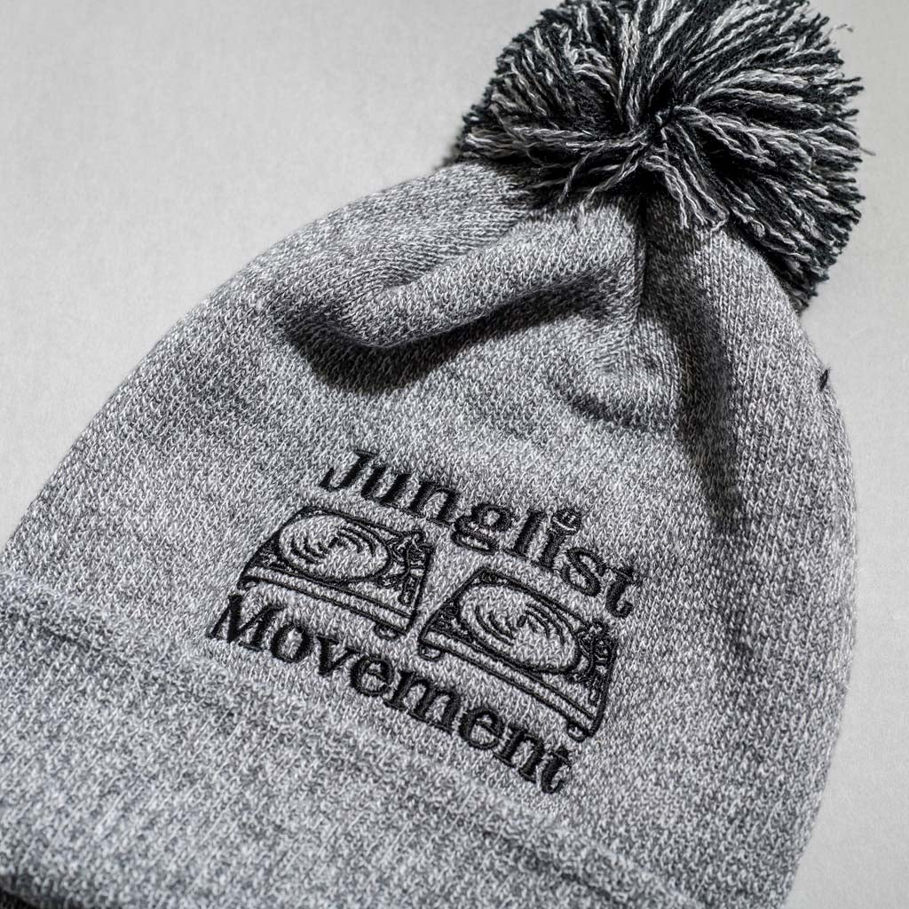 Grey Beanie Junglist Movement