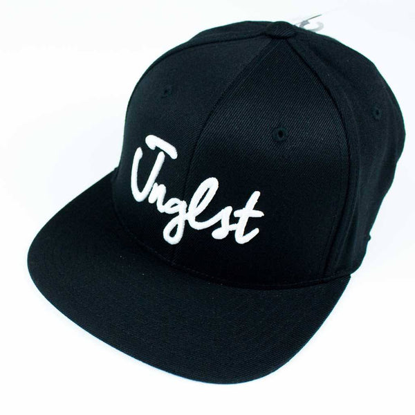 Black 3d embroidered JNGLST Snapback