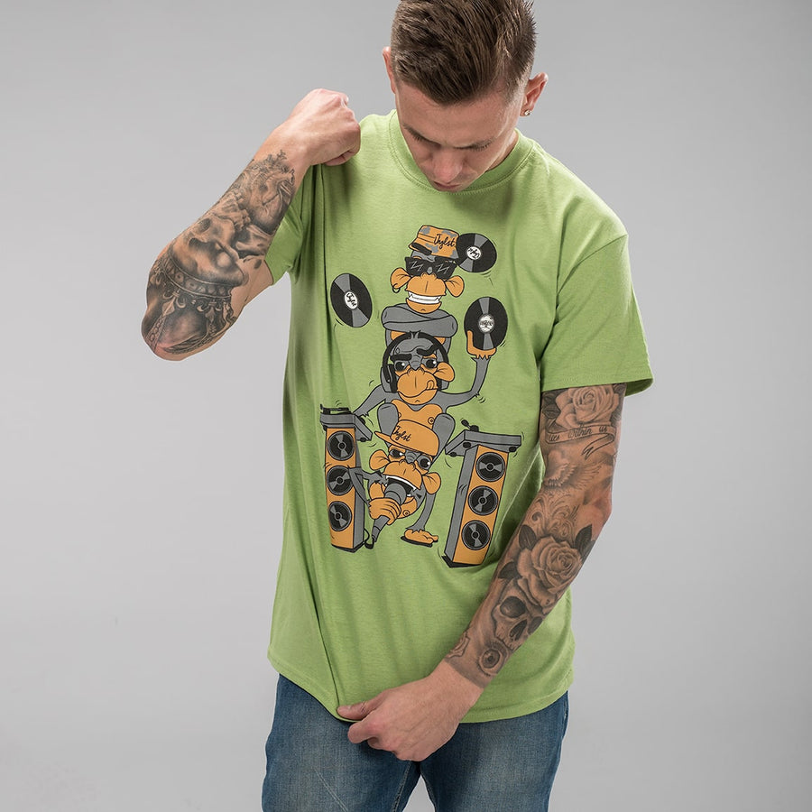 Kiwi Wise Monkeys T-shirt