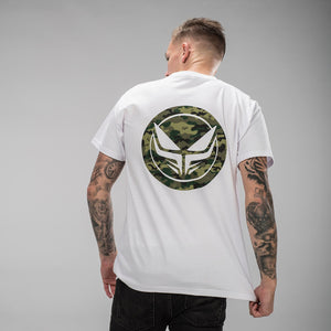 White Dread Recordings DnB T-Shirt Back
