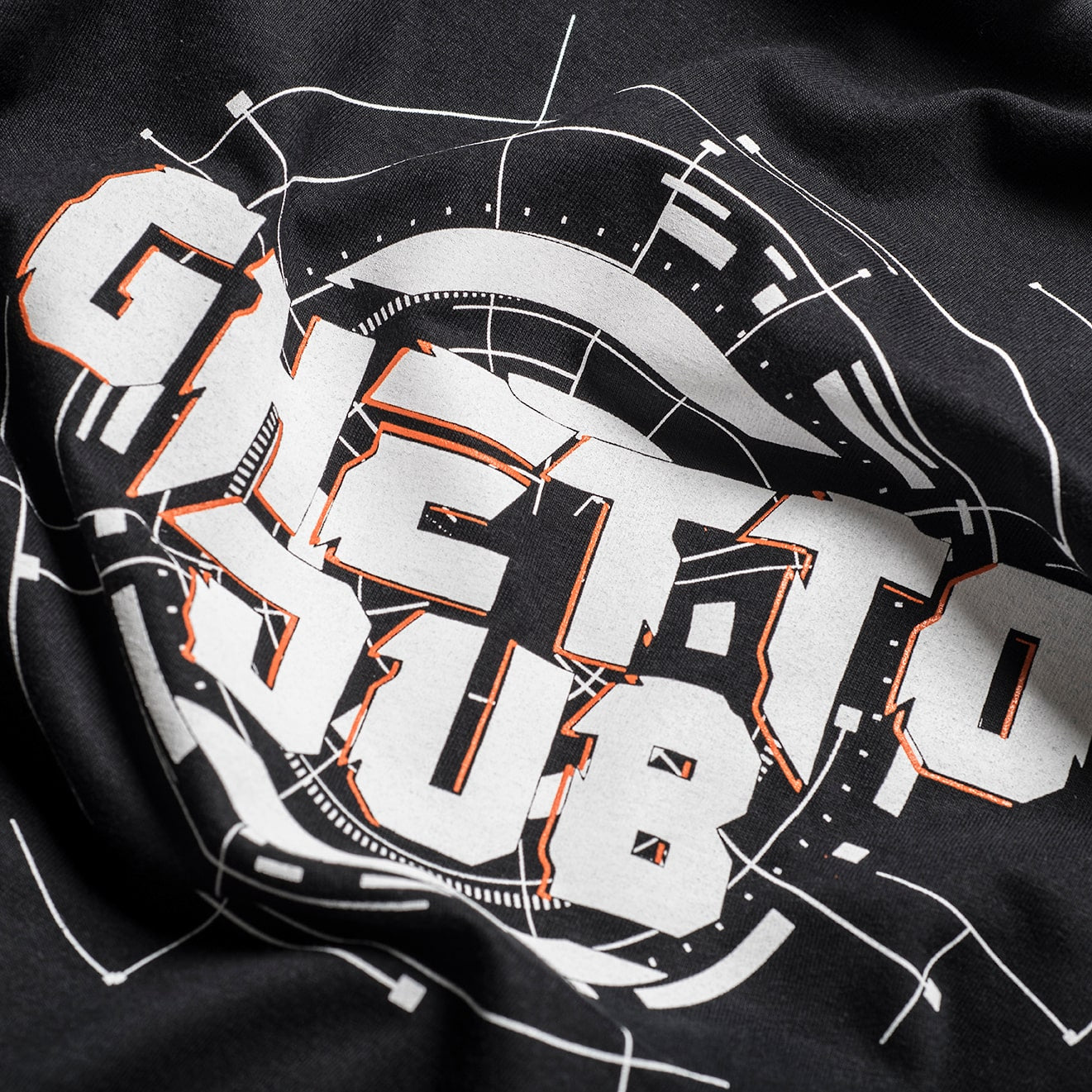 Ghetto Dub Tee design