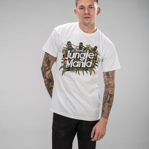 Jungle Mania Jungle Flowers White T-Shirt
