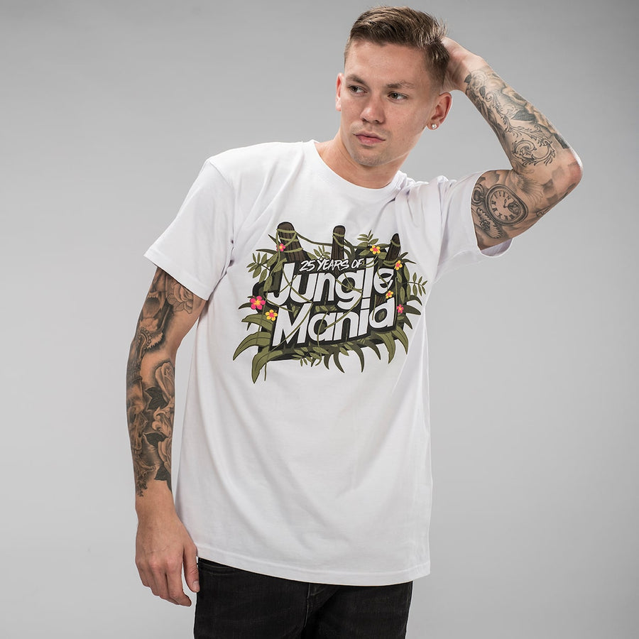 White Jungle Mania T-Shirt