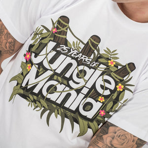 Close up of Jungle Mania t-shirt Design